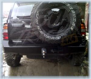 escudo bumper belakang