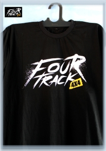 fourtrack t-shirtblack