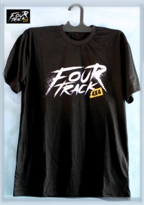 T-shirt Fourtrackblack