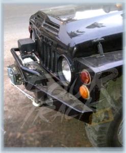 1LJ40 bumper depan typeA