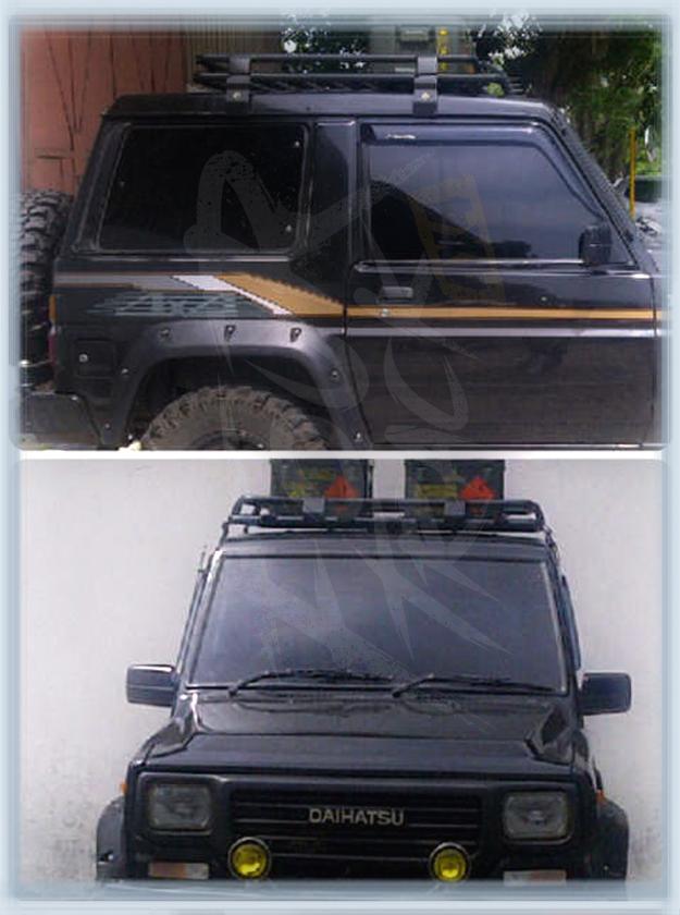 Daihatsu Roofrack Taft Feroza Rocky Hiline Custom 170614