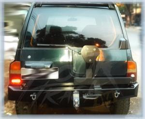 VES1 bumper blk 13061404