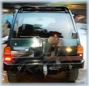 VES1 bumper blk 13061405