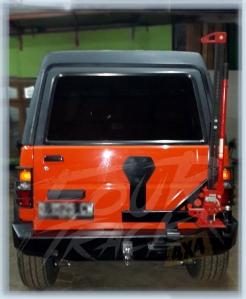 rocky bumper blk 02071401