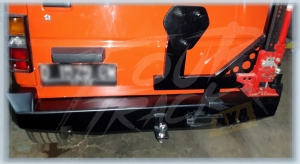 rocky bumper blk 02071405