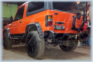 rocky bumper blk 02071406