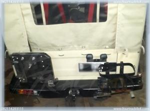 hardtop bumper blk 25011601