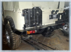 hardtop bumper blk 25011604