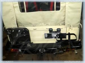 hardtop bumper blk 25011605