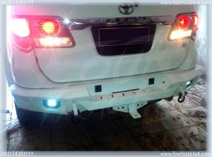 toyota fortuner bumper blk 21041601